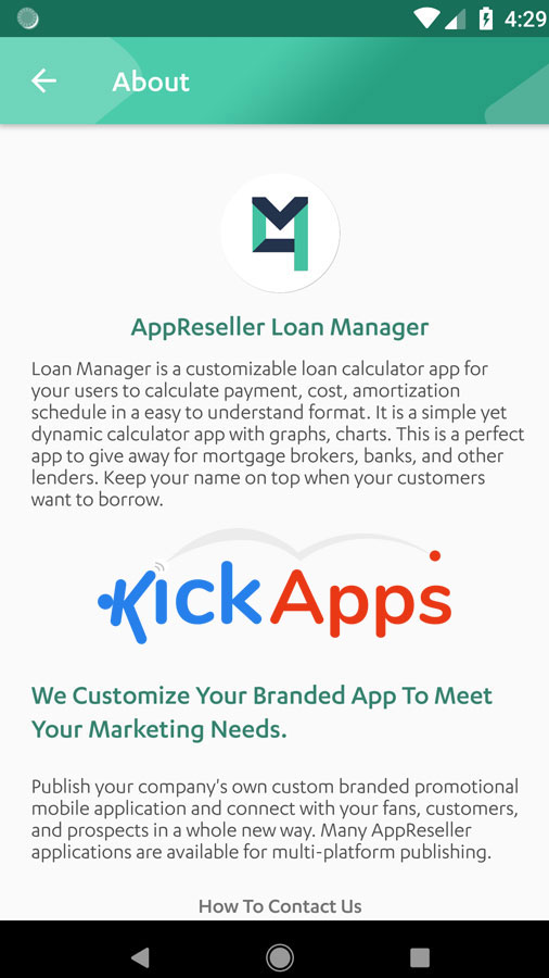 open source loan manager mobile app for mortgage brokers and lenders